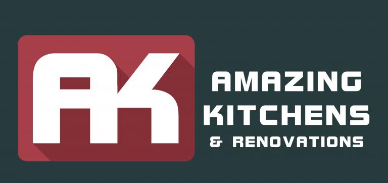 Amazing Kitchens - LOGO 1 RED